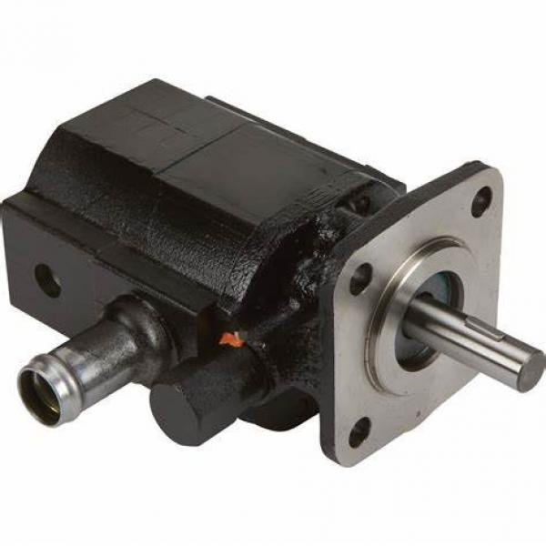 HCHC 12 volt hydraulic pump motor for excavator backhoe loader CMZ-2080-BFPS #1 image